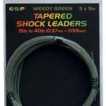 ESP TAPERED SHOCK LEADERS 9m 15lb-40lb