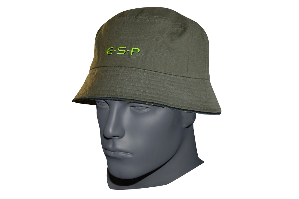 E-S-P Bucket Hat. A new design based on the original that became a bit of a  cult classic. Comfy fit with a nice wide brim with continuous ESP logo trim  ... 53204aa54d8