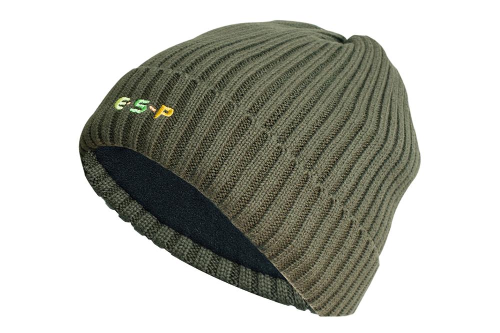 Olive FLEECE LINED WINTER HAT ESP Head Case Hat