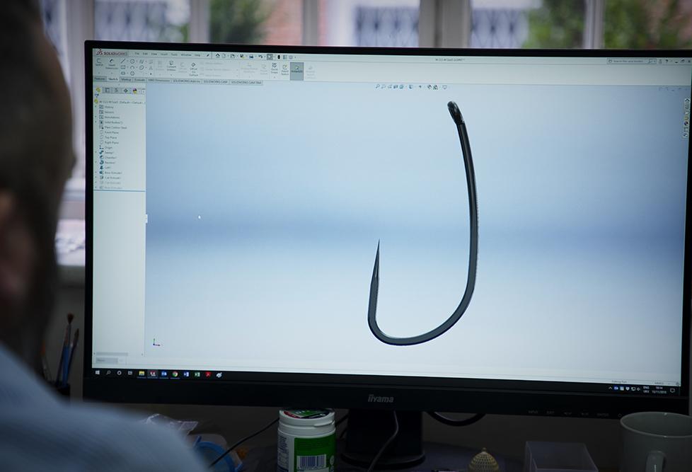The Development of a Carp Hook – Dave Ellyatt